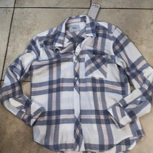 Rails plaid shirt new with tags xs